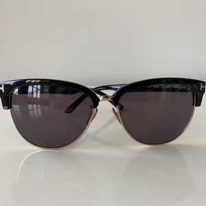 Tom Ford Fany sunglasses in Shiny Black